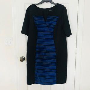 NWT Black and Blue Dress